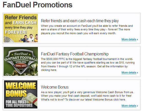 Fanduel.com Promotions